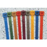 Colour-Coded Nylon Ties