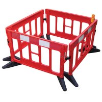 JSP Titan Stackable, Versatile Injection-Moulded Barriers