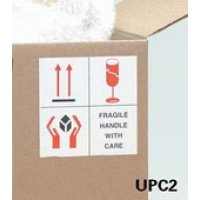 Self-Adhesive Paper Combination Shipping Labels with Three Designs