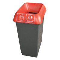Stylish Freestanding Colour Coded Recycling Bins