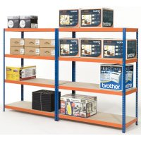 Heavy-Duty 300kg Extra Wide Shelving