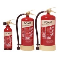 Class A and B AFFF foam fire extinguishers