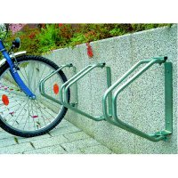 Compact Wall-Mounted Bicycle Racks