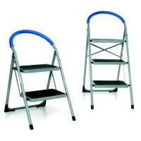 Sturdy Folding Step Ladder With Foam Covered Handle