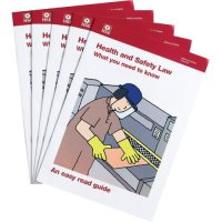 Clear and comprehensive HSE Health & Safety Law leaflets