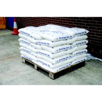Cost-Effective Pallet Of White Rock Salt For De-Icing