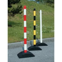 Heavy duty practical plastic bollards