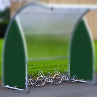 6 Berth Bicycle Rack