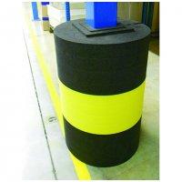 Polyethylene foam modular column protector