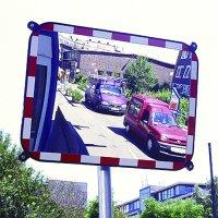 Impact Resistant Traffic Mirror