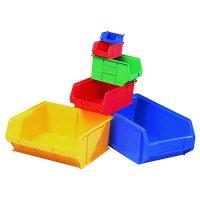 Tough Stackable Plastic Storage Bins