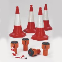 Skipper Highly Visible Retractable Barrier and Traffic Cone Kit