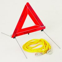 Warning Triangle & Tow Rope