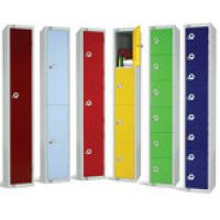 Coloured Lockers