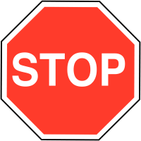 Essential Stop Road Traffic Signs