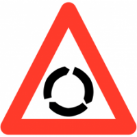 Traffic Signs - Roundabout Ahead