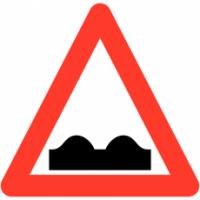 Traffic Signs - Uneven Road Surface