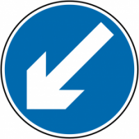 Traffic Signs - Keep Left