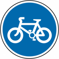 Traffic Signs - Cycle Route