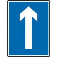 Traffic Signs - One Way Traffic