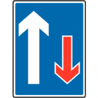 Traffic Signs - Traffic Has Priority Over Oncoming Vehicles