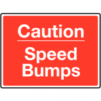 Traffic Signs - Caution Speed Bumps