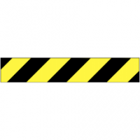 Traffic Signs - Black/Yellow Chevron