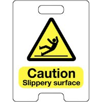 Caution Slippery Surface Temporary Floor Stand