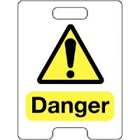 Danger Temporary Floor Stand