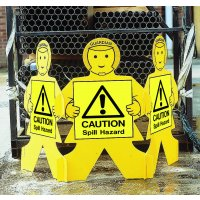 Caution Spill Hazard Guardian Floor Stand