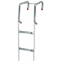 Lightweight, rapid deploy escape ladders
