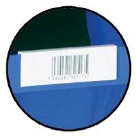 Simple plastic storage bin labels