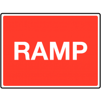 Traffic Signs - Ramp