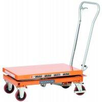 Steel single mobile scissor lift tables