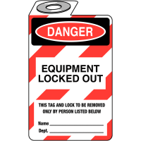 Handily displayed lockout information