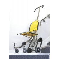 700H steel evacuation chair with dust cover and wall fixings