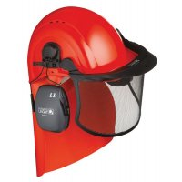 Howard Leight Complete Head, Face and Neck Protection for Forestry