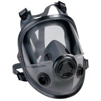 North N5400 Full -Face Respirator with Polycarbonate Shield and Twin Filters