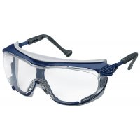 Uvex Skyguard chemical-resistant safety goggles