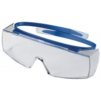 Uvex Super OTG non-fogging goggles for safety purposes