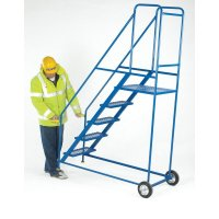 Mobile Galvanised Steel Safety Steps