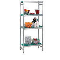 Convenient, Movable, Aluminium Shelving Extension Bay