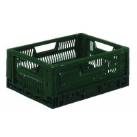 Lightweight Folding Perforated Containers