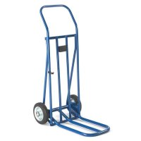 Easy-to-store Lightweight Folding Toe Sack Trucks