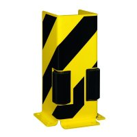 Protective Racking Barriers with Guide Rollers