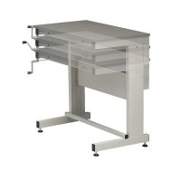 Fully height adjustable multi-purpose workbench