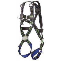 Lightweight and ergonomic miller safety harness