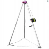 Lightweight fall arrest tripod