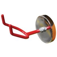 Heavy-Duty Magnetic Hook for Temporary PPE Storage