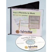 """CD-ROM containing """"Permits to Work"""""""